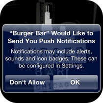 Send Push Notifications to Customers