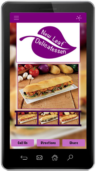 New Leaf Deli Mobile App